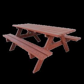 Mesa picnic madera técnica